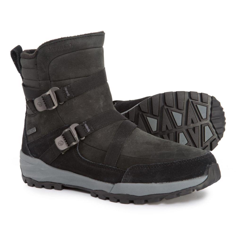 メレル Merrell レディース シューズ・靴 ブーツ【Icepack Mid Zip Polar Winter Boots - Waterproof, Insulated】Black