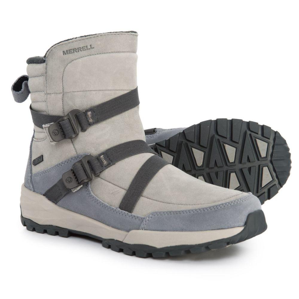 メレル Merrell レディース シューズ・靴 ブーツ【Icepack Mid Zip Polar Winter Boots - Waterproof, Insulated】Monument