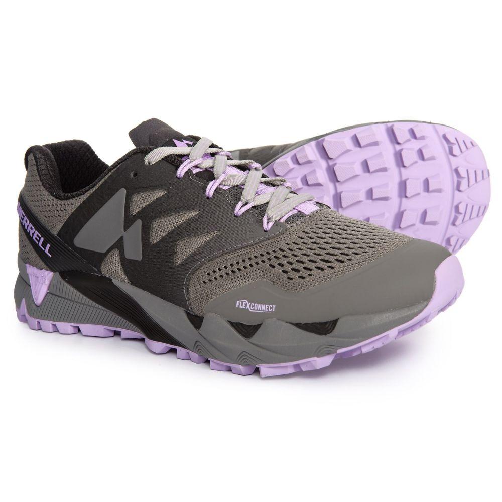 メレル Merrell レディース ランニング・ウォーキング シューズ・靴【Agility Peak Flex 2 E-Mesh Trail Running Shoes】Charcoal