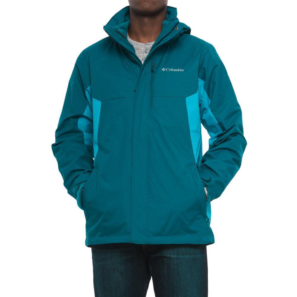 コロンビア Columbia Sportswear メンズ アウター ジャケット【Rockaway Mountain Interchange Jacket - Waterproof, 3-in-1】Phoenix Blue/Dark Compass