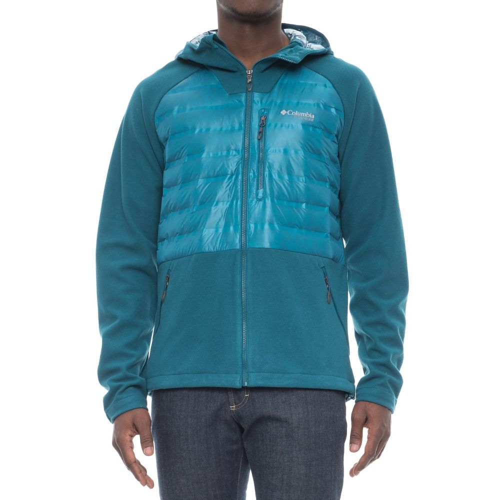 コロンビア Columbia Sportswear メンズ アウター ダウン・中綿ジャケット【Snowfield Hybrid Omni-Heat Down Jacket - 700 Fill Power】Phoenix Blue