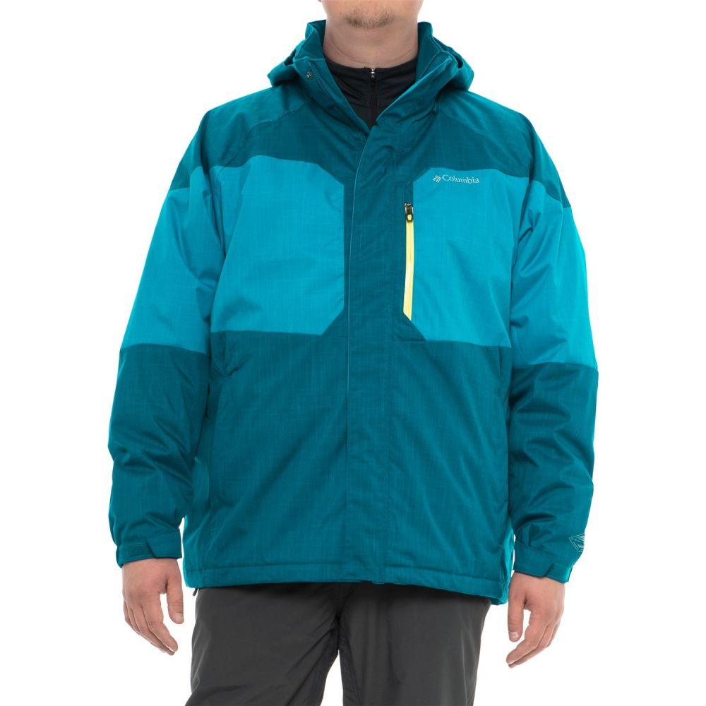 コロンビア Columbia Sportswear メンズ アウター ジャケット【Alpine Action Omni-Heat Jacket - Waterproof, Insulated】Dark Compass/Phoenix