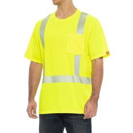 レッドキャップ Red Kap メンズ トップス Tシャツ【High-Visibility T-Shirt - Short Sleeve】Safety Yellow