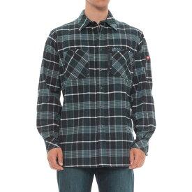 レッドキャップ Red Kap メンズ トップス シャツ【Flannel Work Shirt - Long Sleeve】Blue Plaid