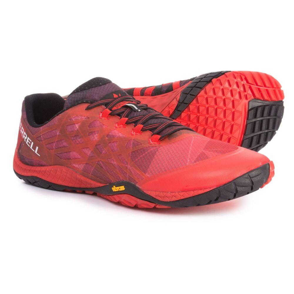 メレル Merrell メンズ ランニング・ウォーキング シューズ・靴【Trail Glove 4 Trail Running Shoes】Molten Lava