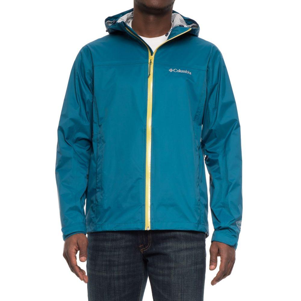 コロンビア Columbia Sportswear メンズ アウター ジャケット【EvaPOURration Omni-Tech Jacket - Waterproof】Phoenix Blue