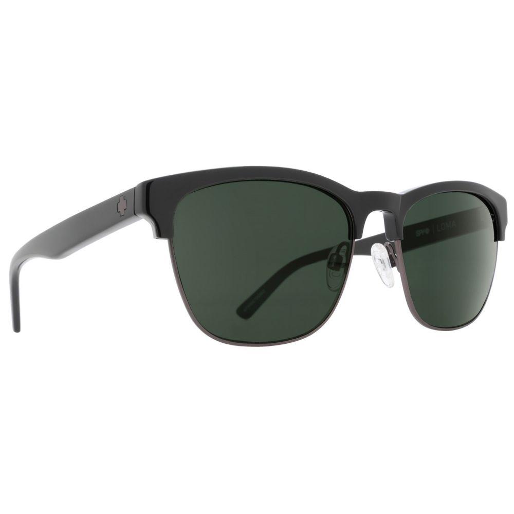 スパイ Spy Optics レディース メガネ・サングラス【Loma Sunglasses】Black/Matte Gunmetal/Happy Gray Green