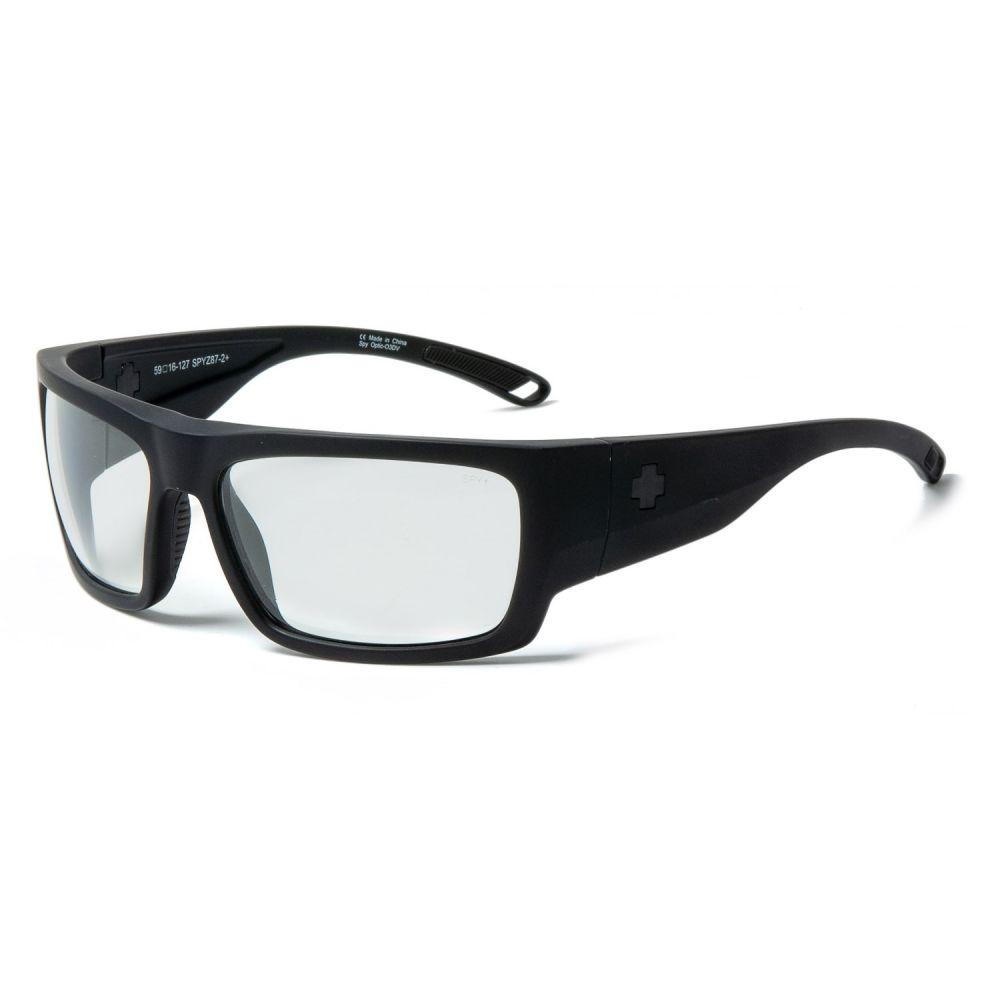 スパイ Spy Optics メンズ メガネ・サングラス【Rover ANSI RX Sunglasses】Matte Black/Clear
