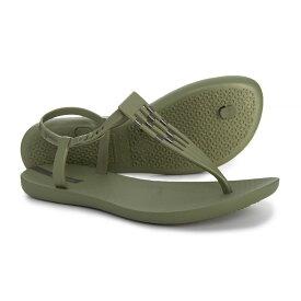 イパネマ Ipanema レディース シューズ・靴 サンダル・ミュール【Sunray T-Strap Sandals】Green