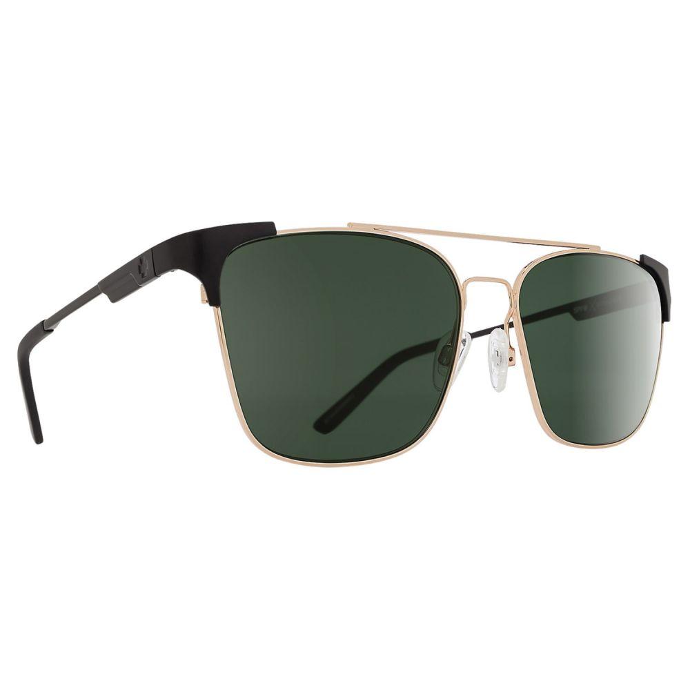 スパイ Spy Optics メンズ メガネ・サングラス【Wingate Sunglasses - Polarized】Matte Black/Gloss Gold/Happy Gray Green
