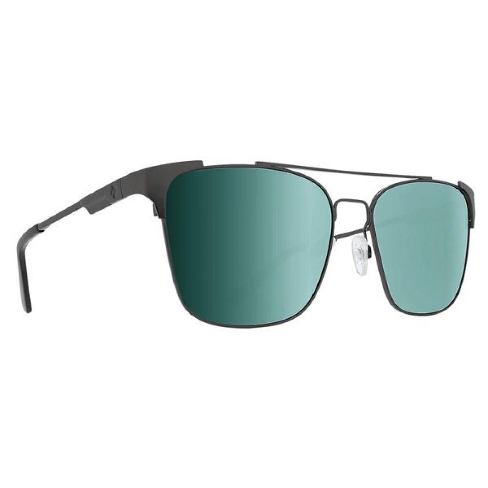 スパイ Spy Optics メンズ メガネ・サングラス【Wingate Sunglasses - Polarized】Matte Silver/Happy Gray Green