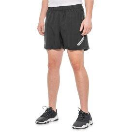 サロモン Salomon メンズ ランニング・ウォーキング ボトムス・パンツ【Agile Running Shorts】Black