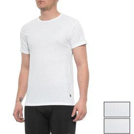 スパイダー Spyder メンズ トップス Tシャツ【White Pro-Cotton Crew T-Shirts - 3-Pack, Short Sleeve】White