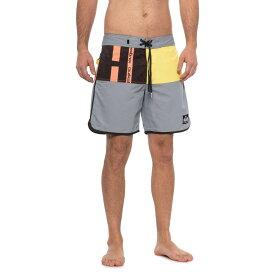 クイックシルバー Quiksilver メンズ 水着・ビーチウェア 海パン【Beach Daze Scallop Boardshorts - 18】Sleet