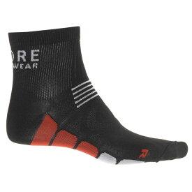 ゴアバイクウェア Gore Bike Wear メンズ 自転車【Speed Mid Cycling Socks - Ankle】Black/Red
