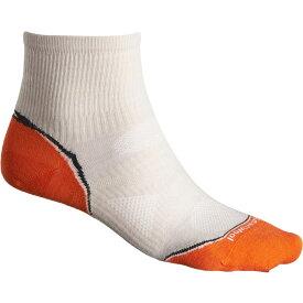 スマートウール SmartWool メンズ ランニング・ウォーキング【Outdoor Sport Ultralight Running Socks - Merino Wool, Quarter Crew】Silver Grey Heather