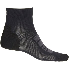 スキンズ Skins メンズ インナー・下着 ソックス【Essentials Seamless High-Performance Socks - Quarter Crew】Black