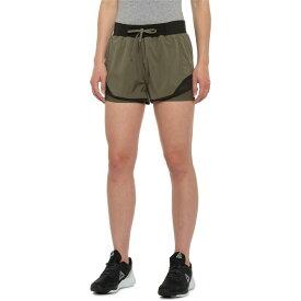モンデッタ Mondetta レディース ランニング・ウォーキング ボトムス・パンツ【Retro Run Running Shorts - Built-In Liner】Olive Combo
