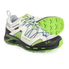 ガルモント Garmont レディース ランニング・ウォーキング シューズ・靴【9.81 Trail Pro III Gore-Tex Trail Running Shoes - Waterproof】Light Grey/Green