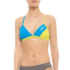 アシックス ASICS レディース 水着・ビーチウェア トップのみ【Kanani Bikini Top - UPF 50+】Surf/Chaos