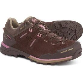 マムート Mammut レディース シューズ・靴 スニーカー【Alnasca Gore-Tex Low Shoes - Waterproof】Coffee/Rose