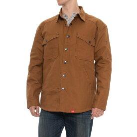 レッドキャップ Red Kap メンズ アウター ジャケット【Premium Shirt Jacket - Snap Front】Timber Brown