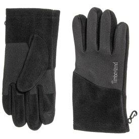 ティンバーランド Timberland メンズ 手袋・グローブ【Fleece Sports Gloves - Touchscreen Compatible】Black