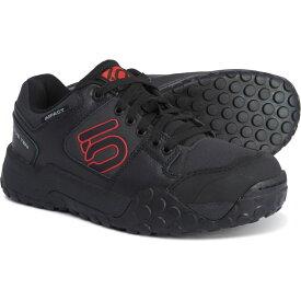 ファイブテン Five Ten メンズ 自転車【Impact Low Mountain Bike Shoes】Black/Red