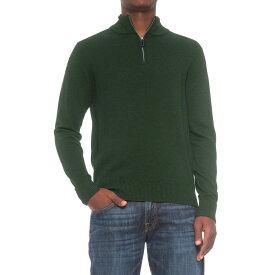 テーラーバード TailorByrd メンズ トップス ニット・セーター【Zip Neck Sweater】Hunter