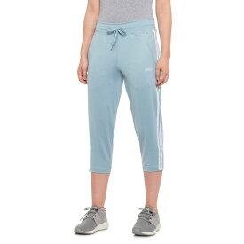 アディダス adidas レディース ボトムス・パンツ【Designed 2 Move 3-Stripe Ankle Pants】Ash Grey