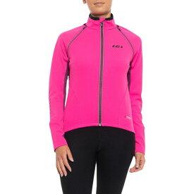 ルイガノ Louis Garneau レディース 自転車 アウター【Spire Polartec Power Shield Cycling Jacket - Convertible】Pink Glow