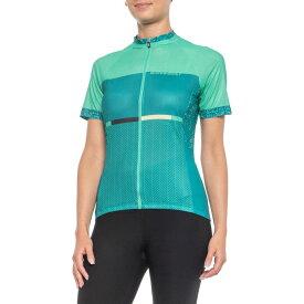 ルイガノ Louis Garneau レディース 自転車 トップス【Equipe GT Series Cycling Jersey - Short Sleeve】Green/Multi