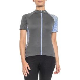ルイガノ Louis Garneau レディース 自転車 トップス【Zircon 2 Cycling Jersey - UPF 50, Short Sleeve】Classical Women