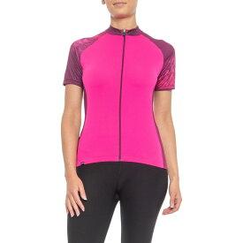 ルイガノ Louis Garneau レディース 自転車 トップス【Zircon 2 Cycling Jersey - UPF 50, Short Sleeve】Geometry Women