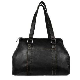 ジャックジョージス Jack Georges レディース バッグ ハンドバッグ【Voyager Collection Satchel - Buffalo Leather】Black