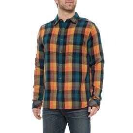 カブー Kavu メンズ シャツ トップス【Sunset Stanwood Woven Plaid Shirt - Reversible, Long Sleeve】Sunset