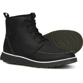 チャコ Chaco メンズ ブーツ モックトゥ シューズ・靴【Dixon High Moc Toe Boots - Leather】Black