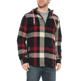 カブー Kavu メンズ シャツ フランネルシャツ トップス【Heritage Hawthorne Hooded Flannel Shirt - Zip Front, Long Sleeve】Heritage