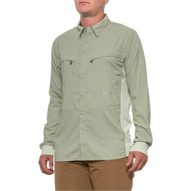 シムズ Simms メンズ 釣り・フィッシング トップス【BugStopper Intruder Bicomp Fishing Shirt - UPF 30+, Long Sleeve】Sagebrush