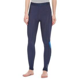 スキンズ Skins レディース スパッツ・レギンス インナー・下着【DNAmic Thermal Long Tights】Navy Blue/Bright Blue