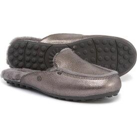 アグ UGG Australia レディース ローファー・オックスフォード シューズ・靴【Lane Metallic Loafers - Suede】Gunmetal