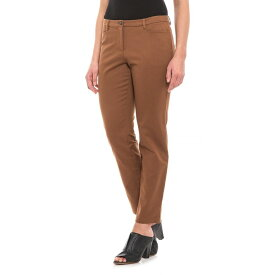 ペンドルトン Pendleton レディース ボトムス・パンツ 【Brown Four-Pocket Solid Stretch Woven Pants - Flat Front】Brown