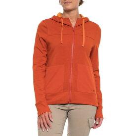 アウトドアリサーチ Outdoor Research レディース パーカー トップス【Cam Hoodie - Full Zip】Burnt Orange