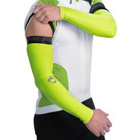 パールイズミ Pearl Izumi ユニセックス 自転車 アームウォーマー サポーター【ELITE Thermal Cycling Arm Warmers】Screaming Yellow