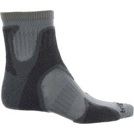 ブリッジデール Bridgedale メンズ ランニング・ウォーキング ソックス【CoolFusion Run Speed Demon Socks - Merino Wool, Ankle】Gunmetal/Black