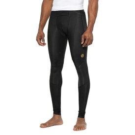 スキンズ Skins メンズ ランニング・ウォーキング タイツ・スパッツ ボトムス・パンツ【A400 Compression Running Tights - UPF 50+】Black