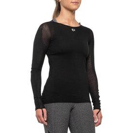 パールイズミ Pearl Izumi レディース 自転車 ベースレイヤー トップス【P.R.O. Transfer Wool Cycling Base Layer Top - Merino Wool, Long Sleeve】Black