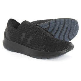 アンダーアーマー Under Armour メンズ シューズ・靴 【SpeedForm Slingride MTSN Shoes】Black/Black
