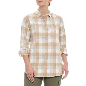 ウールリッチ Woolrich レディース ブラウス・シャツ トップス【Salt Water Grey Check Eco Rich Pemberton shirt - Long Sleeve】Salt Water Grey Check