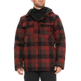 マティックス Matix メンズ ジャケット アウター【Workman Jacket - Waterproof, Insulated】Rusty Red Plaid